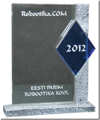 Eesti parim robootika kool, Robomiku 1. koht