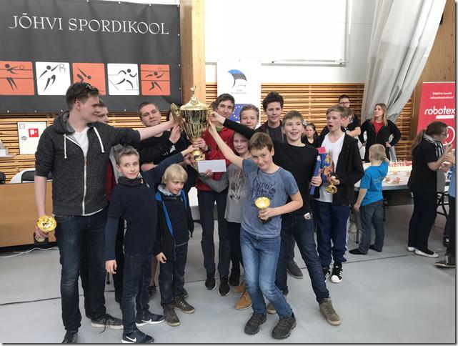 Eesti Parim Robootikakool 2018 Robootika.COM